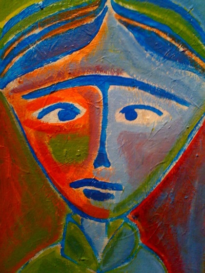 #13 my painting of woman