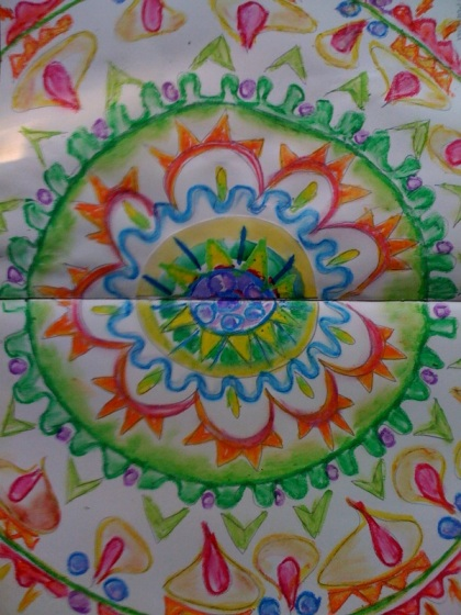 4th journal page mandala