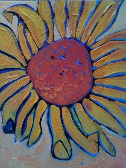 My sunflower final