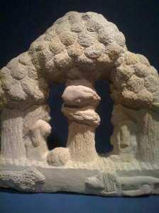 Adam &Eve by Tm Lewis in sandstone 1998